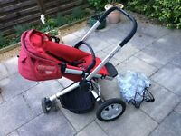 Quinny Buzz Pushchair with rain cover