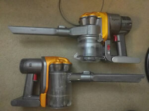 Dyson Root 6 and DC31 Handhelds batteries dead