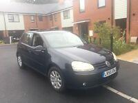 2006 55 VW GOLF 1.9 TDI DSG 5 DOOR FULL HISTORY FULL MOT CRUISE IMMACULATE BARGAIN DIESEL