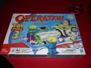 Toy Bins, Buzz Lightyear Angry Birds, Baseball Operation
