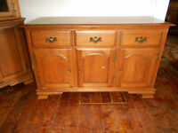 STUNNING SOLID MAPLE BUFFET BY VILLAS ON SALE ONLY $140 NO TAX