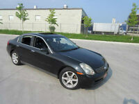 2003 Infiniti G35 Automatic,Leather,roof, Up to 3 years warranty
