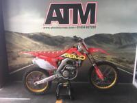 HONDA CRF250 2015 MOTOCROSS BIKE, TALONS, CARBON TANK, NEW DECALS (AT MOTOCROSS)