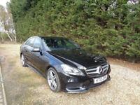 Mercedes-Benz E220 2.1CDI ( 170bhp ) 7G-Tronic Plus 2014MY AMG Sport