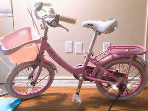 Girl's Bike with Kid's scooter(Hot Deal)