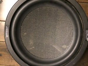 """Kenwood shallow 12"""" sub for under truck seat"""