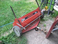 TOW BEHIND LEAVE OR GRASS    CATCHER/SWEEPER