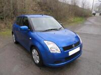 2006 '06' SUZUKI SWIFT 1.3 GL 5 DOOR HATCH IN BRIGHT MET BLUE 93,000 MILES