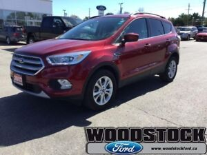 2017 Ford Escape SE  CERTIFIED PRE OWNED,  1.99 OAC, 201A, 4WD,