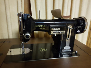 Necchi Cabinet sewing machine SOLD Pending pickup