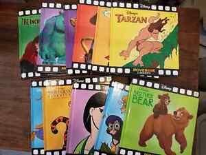 11 Disney hard cover Books