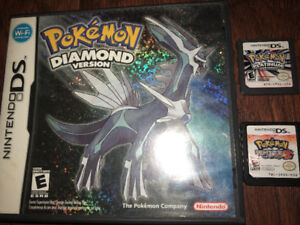 Pokemon Nintendo Games and Time Hollow DS