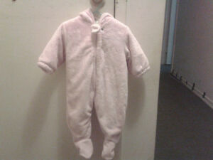FULL LENGTH COAT- PINK-6-9m, was $10
