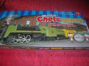 "President's Choice ""Mini Chefs Express"" Train Set -New"