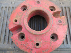 Rear tractor weight