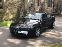 ALFA ROMEO SPIDER 2.2 JTS Black ONLY 41000 miles