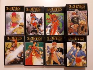 Manga 3x3 Eyes