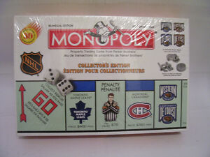 NHL MONOPOLY GAME [new]