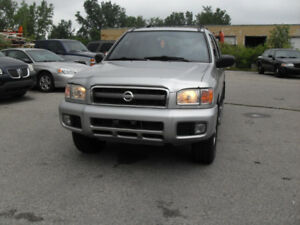 2003 Nissan Pathfinder cert car proof clean  4X4 SOLD SOLD