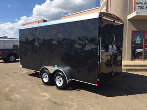 2016 TNT 16ft Enclosed Trailer w/Extended Height $7999 Edmonton Edmonton Area image 2