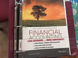 Financial Accounting by Kimmel 6th Canadian edition St. John's Newfoundland image 1