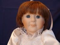 Meggan's Collectors Canadian Procelain Handmade Doll Espceially