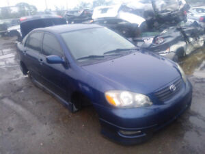 2006 Toyota Corolla just in for parts at Pic N Save!