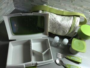 Boîte à lunch et sac - 8 morceaux