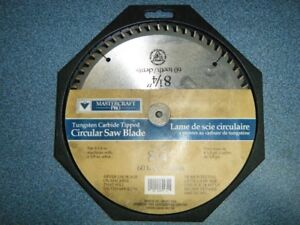 CARBIDE TIP SAW BLADES FOR SALE. 8 1/4 IN.