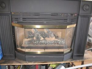 HEB32RN FIREPLACE INSERT WITH CAST TRIM