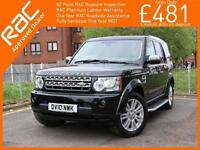 2010 Land Rover Discovery 4 - 3.0 TDV6 HSE Turbo Diesel 6 Speed Auto 4x4 4WD 7 S