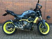 2016 YAMAHA MT-07 700 MOTO CAGE ABS - 9K MILES - 1 OWNER - FULL SERVICE HISTORY