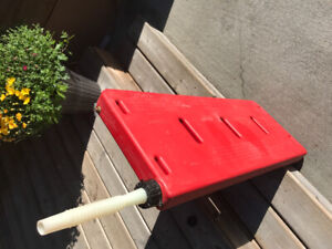 Gas container for ATV