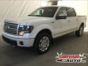 Ford F-150 Platinum Crew 4x4 Navi Cuir Toit Ouvrant MAGS 2010