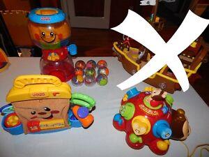 Lot de jouets à 15$ chaque