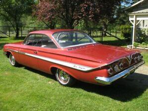 1961 Chevrolet Two Door Hardtop Bubbletop