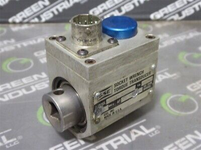 Used Gse 038237-00201 Socket Wrench Torque Transducer 2.000 Mvv At 200 In-lbs