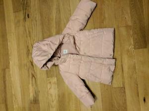 Gap Warmest winter coat toddler girl 3 EUC