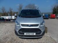 Ford Tourneo Custom 125ps, 9 seat lwb ltd
