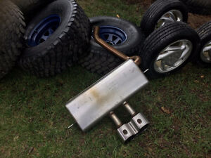 2013- 2017 Ford Focus ST stock Exhaust ($220 OBO)