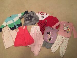 Size 12-18 months girls lot