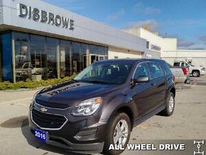 2016 Chevrolet Equinox LS   AWD, Backup Cam, Bluetooth