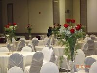 Chair covers for rent- $1.75 DIY