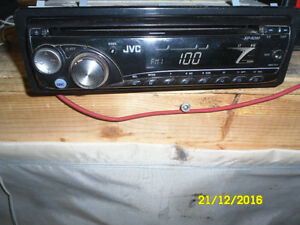 jvc radio with cell phone output
