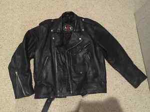 Vintage Motorcycle Jacket - As New!