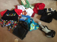 Build-A-Bear Collection of Outfits and Accesories