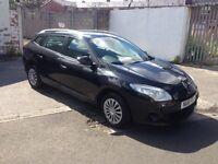 2010 10reg Renault Megane 1.6 Petrol Estate Black New Shape