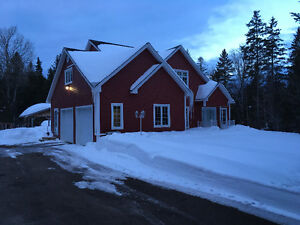 Updated house on acre lot on Leblanc rd in Dieppe