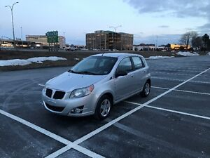 2010 pontiac wave hatchback