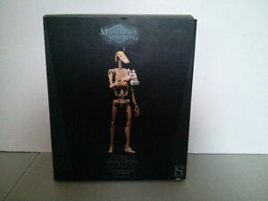 Sideshow Star Wars OOM-9 Battle Droid Commander $150